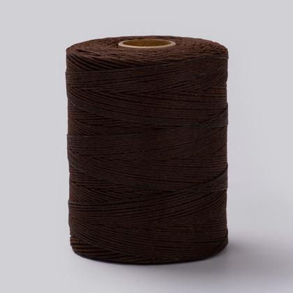 폴리 왁스사 6합 450M - 고동색