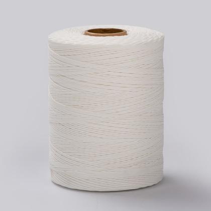 폴리 왁스사 4합 600M - 흰색