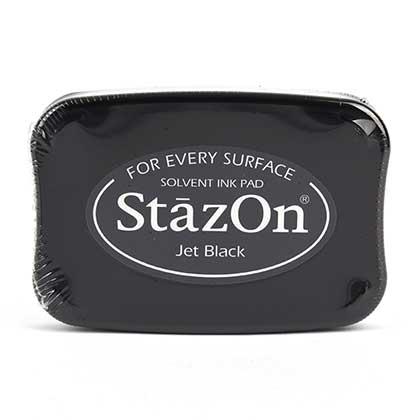 STAZON 유성잉크패드 (JET BLACK)