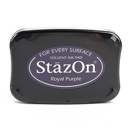 STAZON 유성잉크패드 (ROYAL PURPLE)