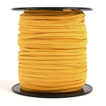 샤무드끈 3MM 100YD - 옐로우
