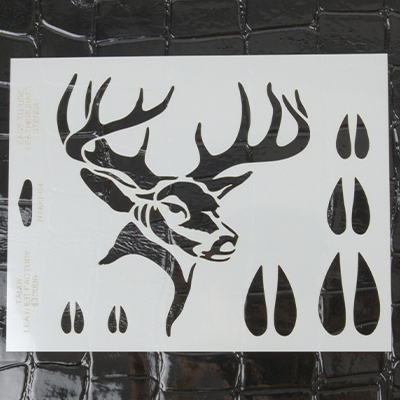 LEATHERCRAFT STENCIL-DEER