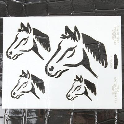LEATHERCRAFT STENCIL - HORSE