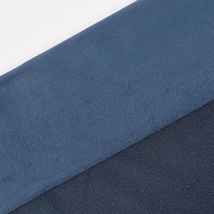 스웨이드 원단 - 블루 (150X90CM)