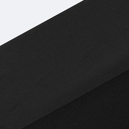스웨이드 원단 - 블랙