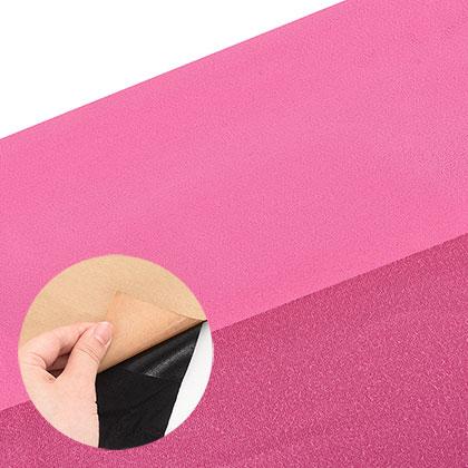 접착식 스웨이드 원단 - 핑크