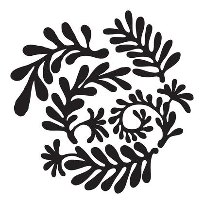수지판 - 나뭇잎 2