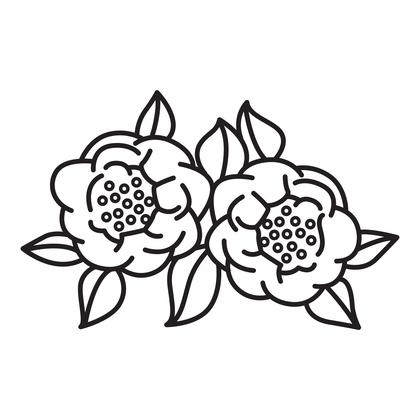 수지판 - 동백꽃
