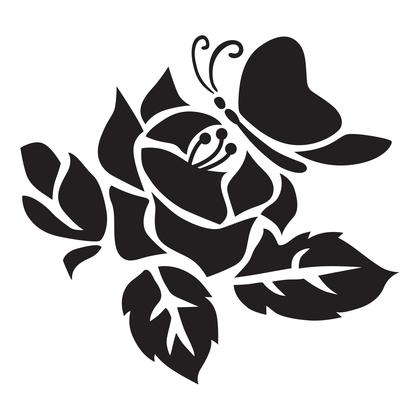 수지판 - 꽃과 나비 2