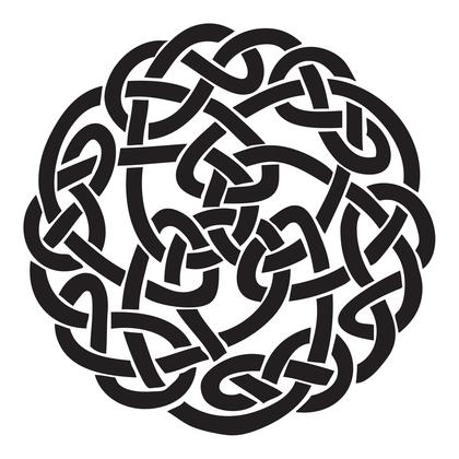 수지판 - 켈틱문양 3