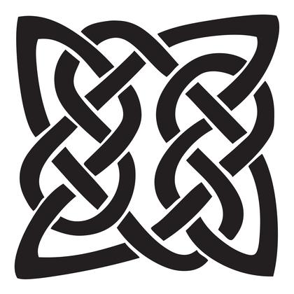 수지판 - 켈틱문양 2
