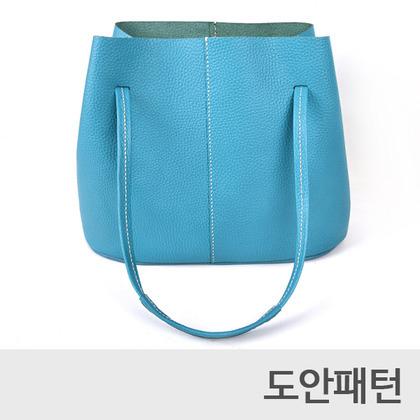 레더 DIY 패턴 데일리토트백