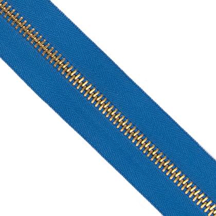 메탈 지퍼 5호 골드 - 918 BLUE 1M