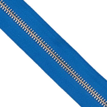 메탈 지퍼 5호 실버 - 918 BLUE 1M