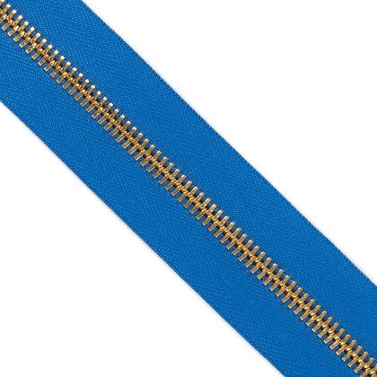 메탈 지퍼 5호 양날 골드 - 918 BLUE 1M