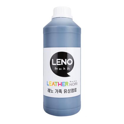 레노 가죽 유성염료 - 다크브라운 1000ML