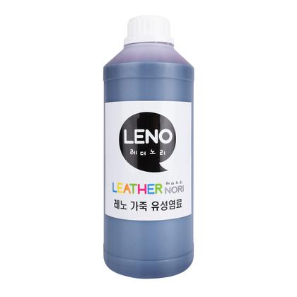 레노 가죽 유성염료 - 레드 1000ML