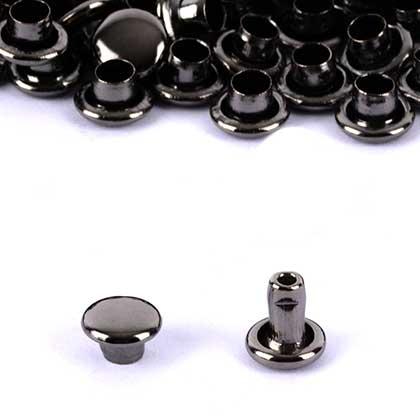 신주)가시메알 양면 6X7MM - 흑니켈 2000세트