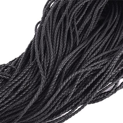 인조메쉬끈 3MM 블랙 - 100M