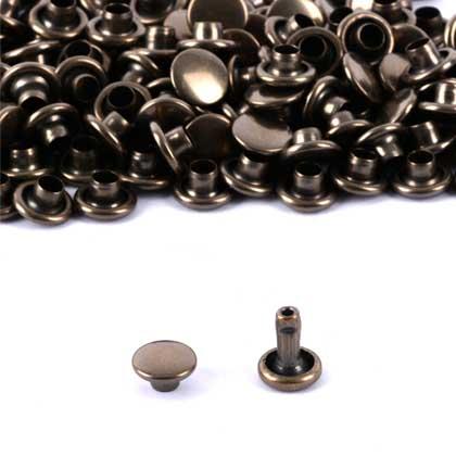 가시메알 양면 8X9MM - 청동 2000세트