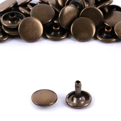 신주)가시메알 양면 13X11MM - 청동 1000세트