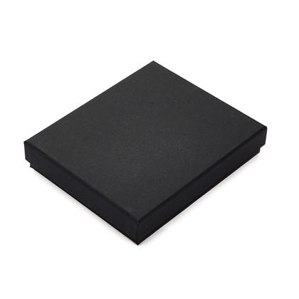 반지갑 케이스 - 무광 블랙