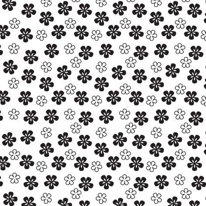 수지판 A4 - 패턴 꽃 2