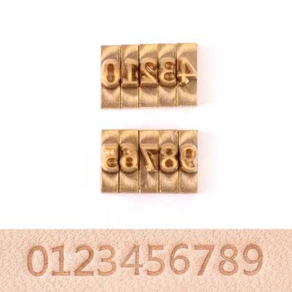 불박 폰트 고딕체 3 숫자