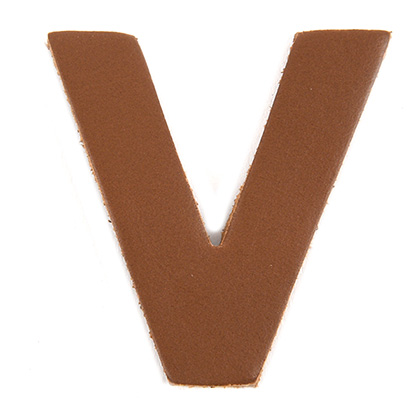 [가죽재단] 알파벳 V