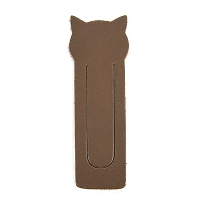 [가죽재단] 클립형 북마크 - 고양이