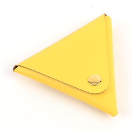 [가죽재단] 삼각동전지갑A