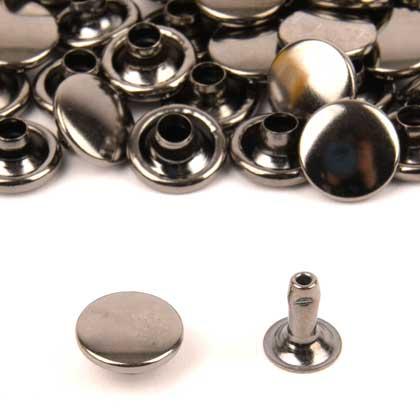 가시메알 단면 10X9MM - 흑니켈 50세트