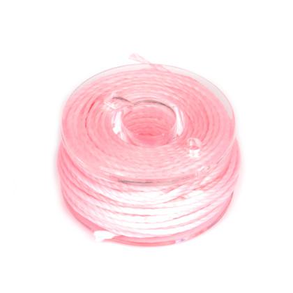 라운드 왁스사 0.65MM 6M - 핑크