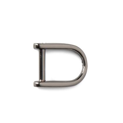 레지 U형 D링 8MM - 흑니켈