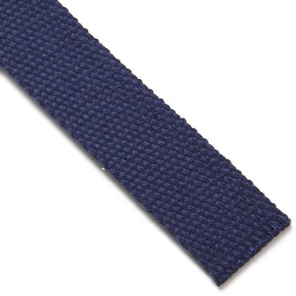 고급형 웨이빙끈 25MM - 네이비 블루 2M