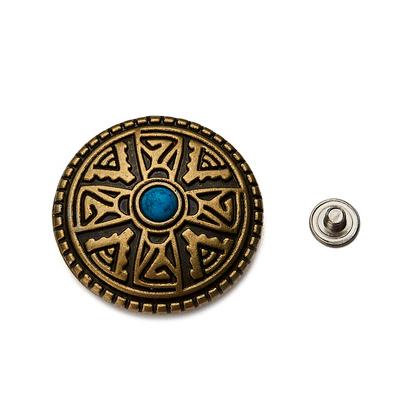 콘쵸 28MM 고대문양 - 브론즈엔틱