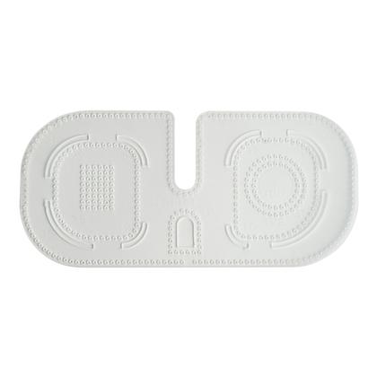 PVC 가이드 코너 라운드 바느질 타공 - 3.38MM