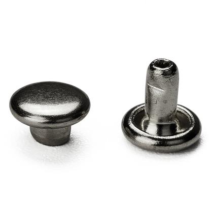 (신주) 가시메알 양면 5X5MM - 흑니켈 30세트
