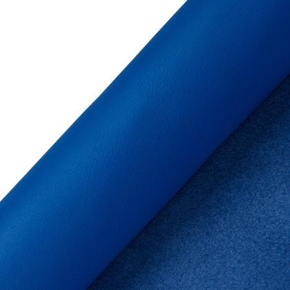 장당 소가죽 밍크탄 - 블루