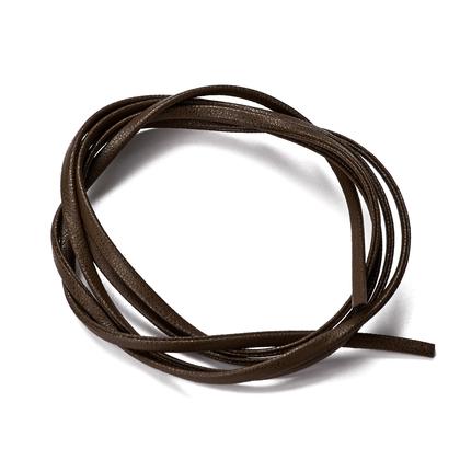 인조가죽 쌍접끈 3MM - 브라운 1M