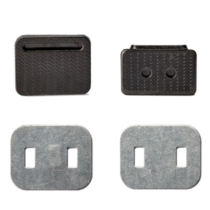 직사각 자석도트 21X16.5X3MM - 흑니켈 1세트