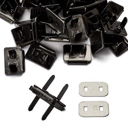 직사각 자석도트 21X16.5X3MM - 흑니켈 100세트