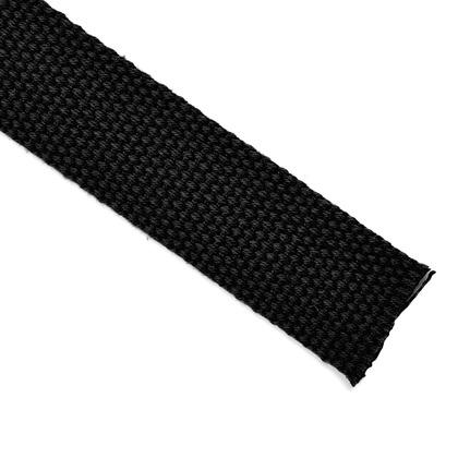 소프트 웨이빙끈 25MM - 블랙 1M