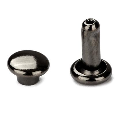 신주)가시메알 양면 6X9MM - 흑니켈 30세트