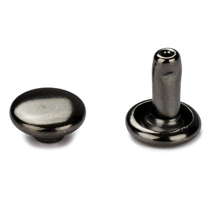 신주)가시메알 양면 8X9MM - 흑니켈 30세트