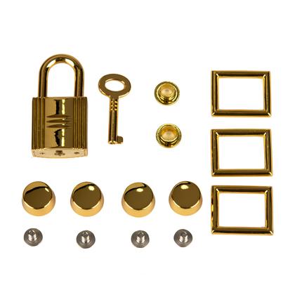 (C) 피코탄 가방 금속장식 풀세트 - 골드